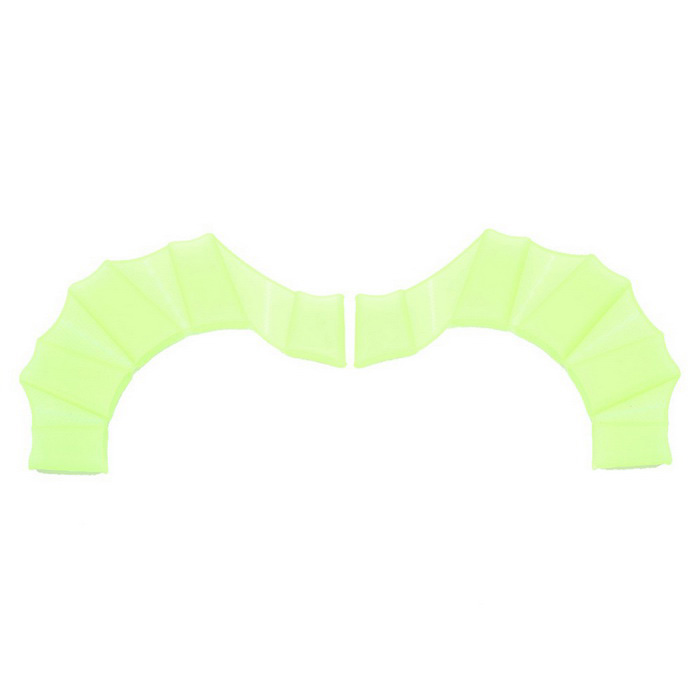 A Pair of Swim Gear Fins Silicone Hand Flippers Unisex Webbed Gloves