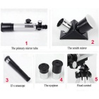Aluminium Alloy Bird Watching Astronomical Telescope - Black