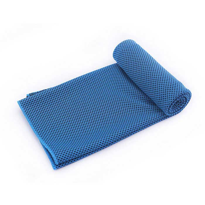 Summer Outdoor Sports Cold Cooling Polyester Towel