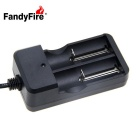 Batterie lithium-ion rechargeable FandyFire Kit 3.7V 2200mAh - Noir
