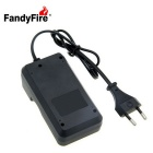 Kit batterie rechargeable lithium-ion fandyfire 3.7V 2200mah - noir