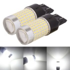 MZ T20 7443 360 Degree LED Car Brake Light Cool White 3014-144 SMD