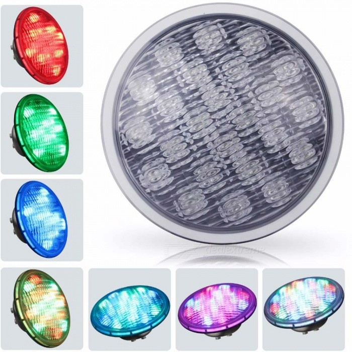 YouOKLight 45W RGB PAR56 Wired LED Underwater Light 252-DIP (DC 12V)