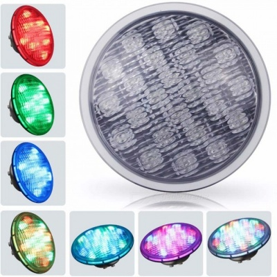 YouOKLight 45W RGB PAR56 Wired 252-DIP LED Underwater Light (DC 12V)