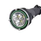 RichFire SF-927 3800lm Slide LED Diving Flashlight - Black (3.7~8.4V)
