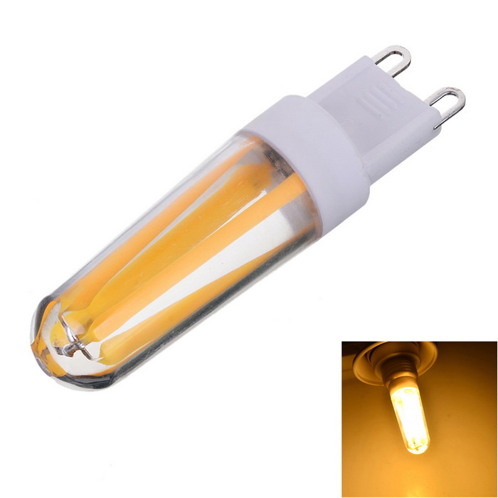 Marsing G9 Dimmable 4W 300lm COB LED Warm White Light Filament Bulb