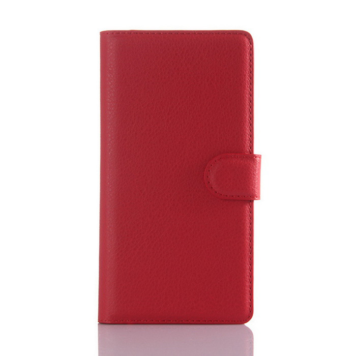 Lichee Pattern Protective Case for Sony Xperia Z5 Premium - Red