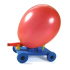 Children DIY Balloon Car Manually Assembled Model Toy (Random Color)