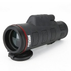 35X 42mm Monocular Telescope for Camping, Mountaineering - Black