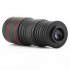 8X 30mm Monocular Telescope - Black + Red