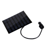 Waterproof Solar Powered 0 36w 20lm 6 Led Red Light