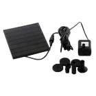 1.2W Solar Pump Kit vapaasti seisova Floating suunnittelu Solar Fountain