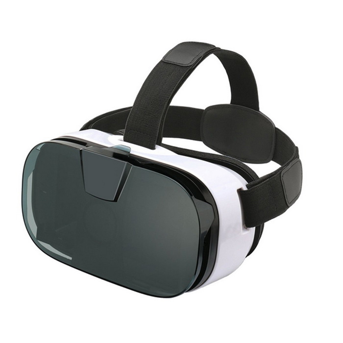 La realtà virtuale VR 3D Glasses + Testa cinghie per Smart Phone