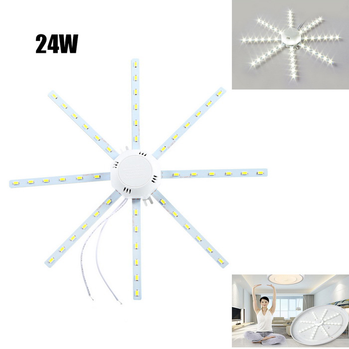 24W 2200lm 48-SMD 5730 Cold White Light Source for Ceiling Lamp