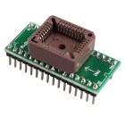 PLCC32 To DIP32 IC Programmer Socket Adapter Module Board - Green