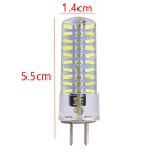 YWXLight GY6.35 80-4014 SMD LED Silicone Dimmable Light Bulb
