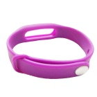 Replacement TPU Wrist Band for Xiaomi Smart Bracelet - Purple