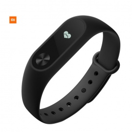 "Xiaomi 0.42"" Mi Band 2 Smart Wristband with Golden Steel Mesh Strap"