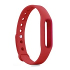 Replacement TPU Wrist Band for Xiaomi Smart Bracelet - Red