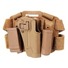 Outdoor Military Tactical Leg reisi Gun Holster - Sand Color