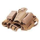 Outdoor Military Tactical Leg Thigh Gun Holster - Sand Color