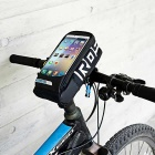 "ROSWHEEL Handlebar Bag w/ Touch Screen Window for 5.7"" Phone - Black"