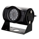 B510 HD Waterproof Camera 10 LED retrovisor w / Night Vision - Black
