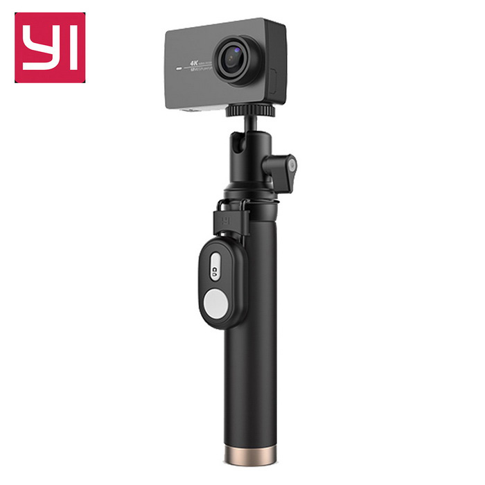 Xiaomi Yi II Wi-Fi 4K Sports Action Camera 2 - Black (Chinese Version)Sport Cameras<br>Form  ColorBLACK (YI Travel Kit+Remote)ModelYAS.1616.CNShade Of ColorBlackMaterialABSQuantity1 DX.PCM.Model.AttributeModel.UnitImage SensorCMOSImage Sensor SizeOthers,IMX377Anti-ShakeYesFocal Distance2.68 DX.PCM.Model.AttributeModel.UnitFocusing RangeF = 2.68mmAperture2.8Wide Angle155Effective Pixels4KImagesJPEGStill Image Resolution12MPVideoMP4,Others,H.264Video Resolution4KVideo Frame Rate30Cycle RecordNoISONoExposure CompensationNoSupports Card TypeSDSupports Max. Capacity64 DX.PCM.Model.AttributeModel.UnitBuilt-in Memory / RAMNoInput InterfaceMicOutput InterfaceMicro USBLCD ScreenYesScreen TypeTFTScreen Size2.19 DX.PCM.Model.AttributeModel.UnitScreen Resolution169Battery Measured Capacity 1300 DX.PCM.Model.AttributeModel.UnitNominal Capacity1400 DX.PCM.Model.AttributeModel.UnitBattery included or notYesBattery Quantity1 DX.PCM.Model.AttributeModel.UnitSupported LanguagesSimplified ChinesePacking List1 * Xiaomi Yi II 4K Action camera1 * Bluetooth remote control1 * Selfie monopod (71cm)1 * Battery 1 * Data cable  (20CM)1 * Chinese use manual<br>