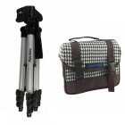 ismartdigi  White Camera Bag+Tripod for All DSLR and Mini DSLR DV
