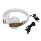 ZEALOT Bluetooth V4.0 Stereo Wireless Phone Headset - White