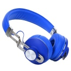Bluetooth V4.0 Bass Stereo Headphones - Blue