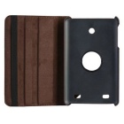 360' Rotating PU Leather Case Cover w/ Stand for LG G Tablet 7.0(V400)