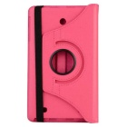 360' Rotating PU Leather Case Cover w/ Stand For LG G Tablet 8.0 V480