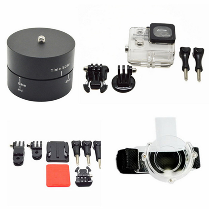 Ourspop GP-102 Accessories Set for GoPro Session Hero 4 /3+ /3 /2 /1