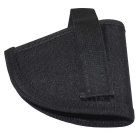 Outdoor Military Field Gun Velcro Holster - Black