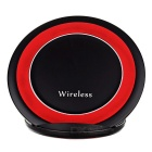 Qi Standard Wireless Charger - Black + Red