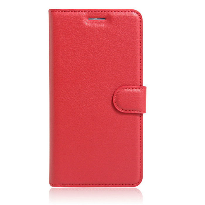 Lichee Pattern Protective Case for HUAWEI  Y5 II - Red