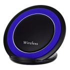 Qi Standard Wireless Charger - Black + Blue