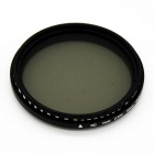 Veledge 52mm Verstelbare Neutral Density ND Slim Lens Filter ND2 naar ND4