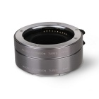 Aputure AC-MS Macro Extension Tube for Sony E-mount - Silver + Grey