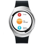 X3 Android 4.4.2 OS Runde Touch Screen 3G Smartwatch Telefon - Silber