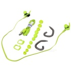Jabees Waterproof In-Ear Sports Bluetooth Headset - Black + Green