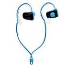 Jabees Waterproof Ear-hook Sports Bluetooth Headset - Black + Blue