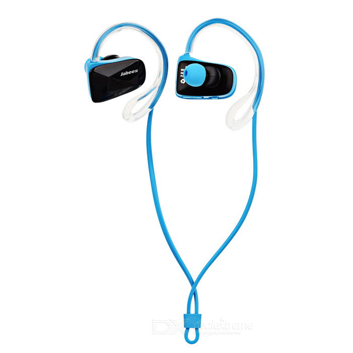 jabees waterproof ear hook sports bluetooth headset black blue free shi. Black Bedroom Furniture Sets. Home Design Ideas
