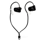 Jabees Waterproof Ear-hook Sports Bluetooth Headset - Black