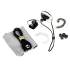 Jabees impermeable auricular gancho de auriculares Bluetooth - negro