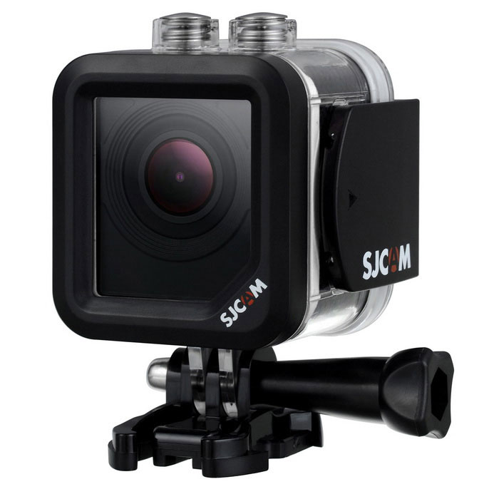 SJCAM M10 Plus 2K Resolution Gyro Stabilization Sports Camera - White
