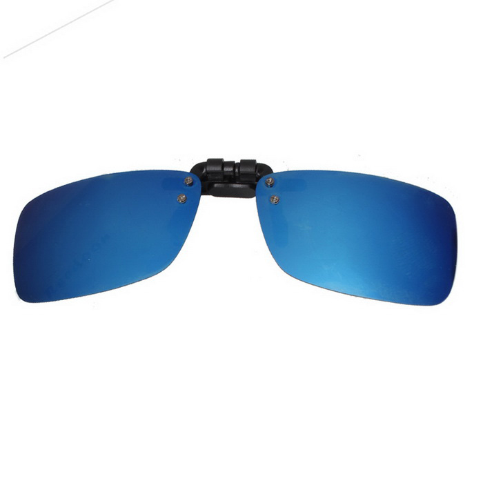 Reedoon 2202 Clip-on UV400 Protection Sunglasses Glasses Clip - Blue
