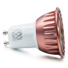 YWXLIGHT dimmable GU10 COB blanco caliente proyector LED (ac 220 ~ 240V)