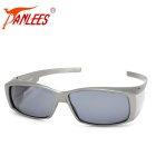 Panlees DE572 PC Frame TAC Lens Sunglasses - Gun Grey + Grey